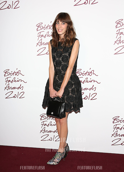 Alexa Chung arriving for The British Fashion Awards 2012 held at The Savoy, London. 27/11/2012 Picture by: Henry Harris / Featureflash