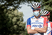 Thibaut Pinot (FRA/Groupama-FDJ) at the race start in Clermont-Ferrand<br /> <br /> Stage 1: Clermont-Ferrand to Saint-Christo-en-Jarez (218km)<br /> 72st Critérium du Dauphiné 2020 (2.UWT)<br /> <br /> ©kramon
