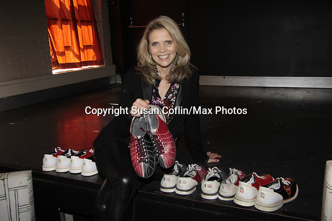 Sonia Satra bowls - 11th Annual Daytime Stars & Strikes Event for Autism - 2015 on April 19, 2015 hosted by Guiding Light's Jerry ver Dorn (& OLTL) and Liz Keifer at Bowlmor Lanes Times Square, New York City, New York. (Photos by Sue Coflin/Max Photos)
