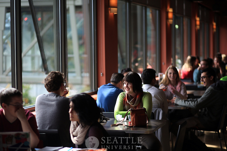 09252013- Seattle University - Campus <br /> <br /> Start of School - Fall Quarter 2013