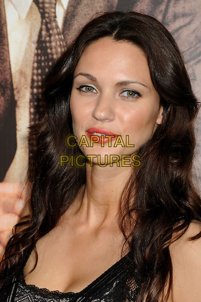 "BOJANA BAROVIC.""The Lincoln Lawyer"" Los Angeles Screening held at Arclight Cinemas, Hollywood, California, USA..March 10th, 2011.headshot portrait black pink lipstick mnake-up beauty .CAP/ADM/BP.©Byron Purvis/AdMedia/Capital Pictures."