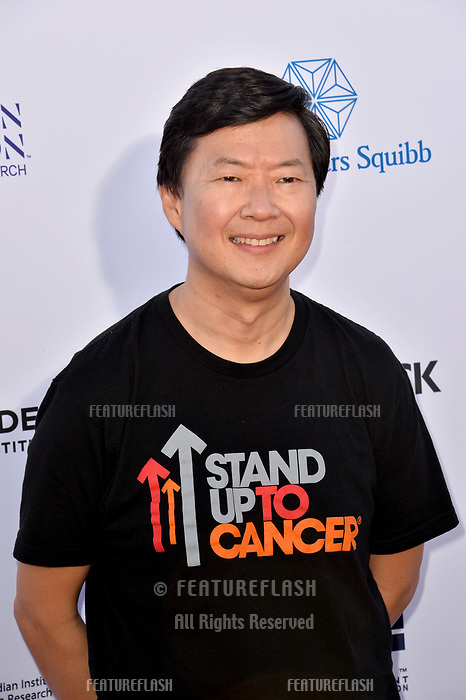 SANTA MONICA, CA. September 07, 2018: Ken Jeong at the 2018 Stand Up To Cancer fundraiser at Barker Hangar, Santa Monica Airport.