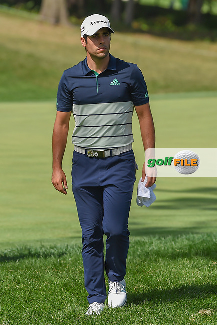 Adrian Otaegui (ESP) approaches 16 during 1st round of the 100th PGA Championship at Bellerive Country Club, St. Louis, Missouri. 8/9/2018.<br /> Picture: Golffile | Ken Murray<br /> <br /> All photo usage must carry mandatory copyright credit (© Golffile | Ken Murray)