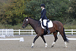 Class 1. Unaffiliated Dressage. Brook Farm training centre. Essex. 30/09/2017. MANDATORY Credit Garry Bowden/Sportinpictures - NO UNAUTHORISED USE - 07837 394578