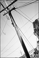 "The pole and wire<br /> From ""Walking Downtown"" series. San Francisco, CA, 2007"