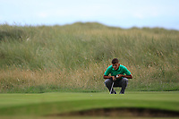 John Brady of Ireland during Day 2 / Singles of the Boys' Home Internationals played at Royal Dornoch Golf Club, Dornoch, Sutherland, Scotland. 08/08/2018<br /> Picture: Golffile | Phil Inglis<br /> <br /> All photo usage must carry mandatory copyright credit (&copy; Golffile | Phil Inglis)