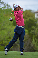 Hideki Matsuyama (JPN) watches his tee shot on 3 during day 3 of the WGC Dell Match Play, at the Austin Country Club, Austin, Texas, USA. 3/29/2019.<br /> Picture: Golffile | Ken Murray<br /> <br /> <br /> All photo usage must carry mandatory copyright credit (© Golffile | Ken Murray)