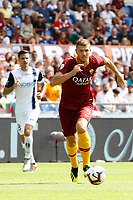 Roma's Edin Dzeko in action during the Italian Serie A football match between Roma and Chievo Verona at Rome's Olympic stadium, September 16, 2018.<br /> UPDATE IMAGES PRESS/Riccardo De Luca