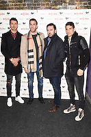 Jose Fonte and Adrian<br /> arrives for the &quot;Iron Men&quot; premiere at the Mile End Genesis cinema, London.<br /> <br /> <br /> &copy;Ash Knotek  D3236  02/03/2017