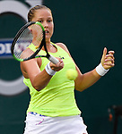 Shelby Rogers (USA) defeats Madison Keys (USA) 4-6, 6-1, 6-1