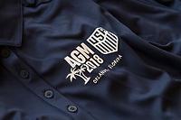 Orlando, FL - Friday February 09, 2018: AGM Logo during U.S. Soccer's Annual General Meeting (AGM) at the Renaissance Orlando at SeaWorld.