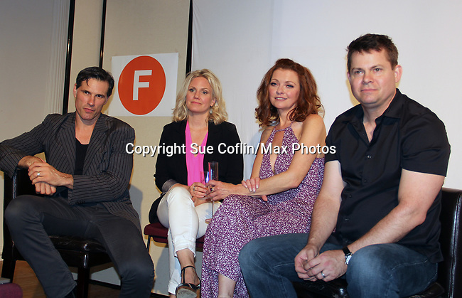 "As The World Turns' Austin Peck, Terri Conn, Anne Sayre support Trent Dawson -  ""The F"" - a Benefit for the film was held on June 22, 2018 at the Freeman Studio, New York City, New York. (Photo by Sue Coflin/Max Photo)"