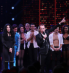 Cher and Jeffrey Seller during the Broadway Opening Night Curtain Call of 'The Cher Show'  at Neil Simon Theatre on December 3, 2018 in New York City.
