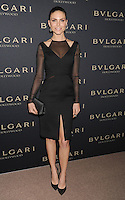 WWW.BLUESTAR-IMAGES.COM  Model Nina Senicar arrives at the BVLGARI 'Decades Of Glamour' Oscar Party Hosted By Naomi Watts at Soho House on February 25, 2014 in West Hollywood, California.<br /> Photo: BlueStar Images/OIC jbm1005  +44 (0)208 445 8588