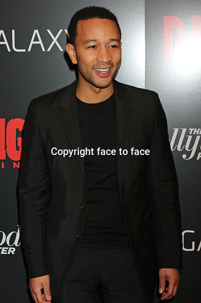 "John Legend arriving at a screening of ""Django Unchained"" at The Ziegfeld Theater in New York, 11.12.2012...Credit: Rolf Mueller/face to face"