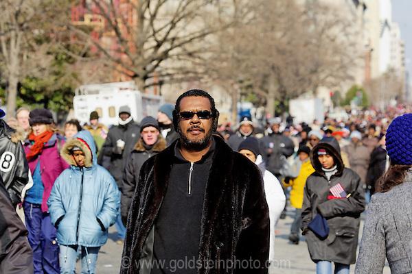 Inauguration of Barack Obama, January 20th 2009. Washington, DC