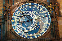 clock on the Old Town Hall - Prague - Czech Republic