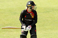 Hayley Brown of Sunrisers warms up in the nets prior to Sunrisers vs South East Stars, Rachael Heyhoe Flint Trophy Cricket at The Cloudfm County Ground on 13th September 2020