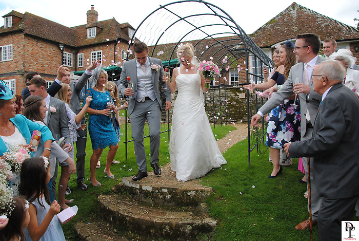 The Master Builders House Hotel Brockenhurst Wedding by David Timpson photography