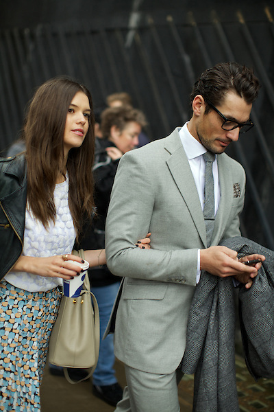 Sarah Ann Macklin and David Gandy
