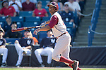 Jameis Winston (Seminoles),<br /> FEBRUARY 25, 2014 - MLB :<br /> Jameis Winston of the Florida State University Seminoles bats during a spring training baseball game between the Florida State University Seminoles and the New York Yankees at George M. Steinbrenner Field in Tampa, Florida, United States. (Photo by Thomas Anderson/AFLO) (JAPANESE NEWSPAPER OUT)