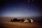 MEXICO, Baja, Magdalena Bay, Pacific Ocean, on the beach at night at Isla Magdalena