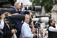 photographers<br /> RAF centenary fly-past at Buckingham Palace, The Mall, London England on July 10, 2018.<br /> CAP/PL<br /> &copy;Phil Loftus/Capital Pictures