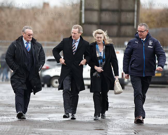 Dave King arrives at Central Park, Cowdenbeath