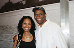 "All My Children's Jerome Preston Bates ""Derek Frye"" came to see Guiding Light's Kim Brockington star in Long Time Since Yesterday on June 19, 2010 which is a part of the Great Black Plays & Playwrights Reading Series held at the Castillo Theatre, New York City, New York. (Photo by Sue Coflin/Max Photos)"