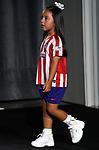 Valentina, daughter of the Atletico de Madrid's new player Hector Herrera. July 4, 2019. (ALTERPHOTOS/Acero)