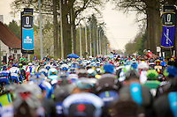 official start given by race director/organiser Wim Van Herreweghe<br /> <br /> Ronde van Vlaanderen 2014