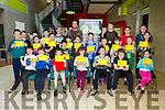 COMPUTER CAMP: Enjoying the Kerry Coder Dojo at Kerry Technology Park on Saturday with their awards were HTML Yellow Group