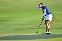 PATTAYA, THAILAND - FEBRUARY 22: Moriya Jutanugarn of Thailand 4th shot on the 1st fairway during the second round of the Honda LPGA Thailand 2019 at Siam Country Club Pattaya (Old Course), Pattaya, Thailand on February 22, 2019.<br /> .<br /> .<br /> .<br /> (Photo by: Naratip Golf Srisupab/SEALs Sports Images)<br /> .<br /> Any image use must include a mandatory credit line adjacent to the content which should read: Naratip Golf Srisupab/SEALs Sports Images