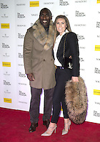 LONDON, ENGLAND - NOVEMBER 22:  (L-R) Sol Campbell and Fiona Barratt attends The Design Museum VIP launch on November 22, 2016 in London, United Kingdom<br /> CAP/PP/GM<br /> &copy;GM/PP/Capital Pictures /MediaPunch ***NORTH AND SOUTH AMERICAS ONLY***