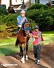 Burning Fleet before The Delaware Park Arabian Juvenile Championship (gr 3) at Delaware Park on 9/28/13