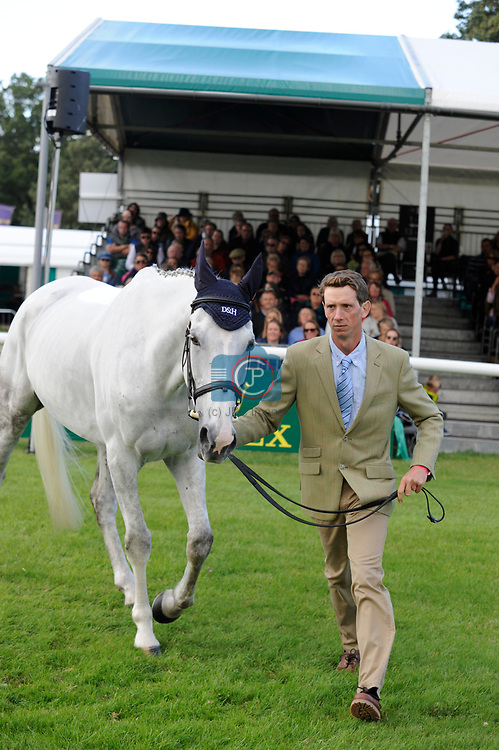 Stamford, Lincolnshire, United Kingdom, 4th September 2019, Richard P Jones (GB) & Alfies Clover during the 1st Horse Inspection of the 2019 Land Rover Burghley Horse Trials, Credit: Jonathan Clarke/JPC Images