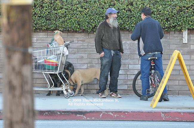 Homeless Man, Van Nuys California