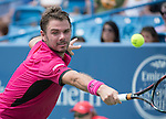 Stan Wawrinka (SUI) defeated Jared Donaldson (USA) 2-6, 6-3, 6-4