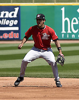 April 18, 2004:  Second baseman Robert Valido of the Kannapolis Intimidators, Low-A South Atlantic League affiliate of the Chicago White Sox, during a game at Classic Park in Eastlake, OH.  Photo by:  Mike Janes/Four Seam Images