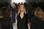 """Models walk runway outfits from the Erin Fetherston Fall 2017 """"In Pursuit of Rhapsody"""" collection, at Skylight Clarkson Square on February 9, 2017 at New York Fashion Week: The Shows."""