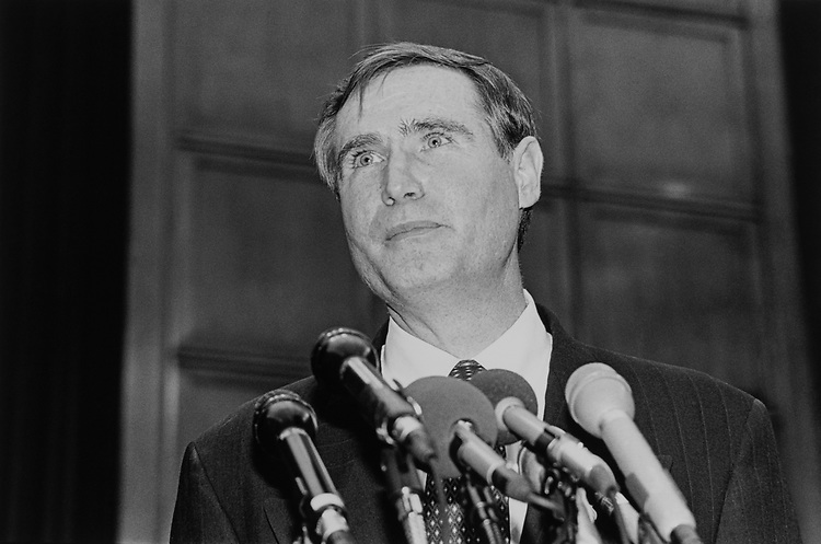 Rep. William T. Redmond, R-N.M., at a press conference in May 1997. (Photo by Laura Patterson/CQ Roll Call)