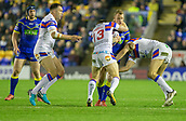 23rd March 2018, Halliwell Jones Stadium, Warrington, England; Betfred Super League rugby, Warrington Wolves versus Wakefield Trinity;