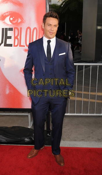 Kevin Alejandro.'True Blood' Season 5 Los Angeles Premiere at ArcLight Cinemas Cinerama Dome, Hollywood, California, USA..May 30th, 2012.full length blue suit .CAP/ROT/TM.© TM/Roth/Capital Pictures