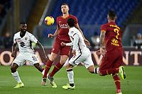 Nicolas N'Koulou of Torino FC , Edin Dzeko of AS Roma , Armando Izzo of Torino FC <br /> Roma 5-1-2020 Stadio Olimpico <br /> Football Serie A 2019/2020 <br /> AS Roma - Torino FC <br /> Foto Andrea Staccioli / Insidefoto