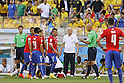 Luiz Felipe Scolari (BRA), JUNE 28, 2014 - Football / Soccer : FIFA World Cup Brazil 2014 round of 16 match between Brazil and Chile at the Mineirao Stadium in Belo Horizonte, Brazil. (Photo by AFLO)