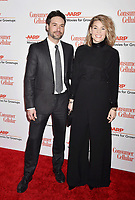 BEVERLY HILLS, CA - FEBRUARY 04: Jay Montepare, Elizabeth Chomko attends the 18th Annual AARP The Magazine's Movies For Grownups Awards at the Beverly Wilshire Four Seasons Hotel on February 04, 2019 in Beverly Hills, California.<br /> CAP/ROT/TM<br /> &copy;TM/ROT/Capital Pictures