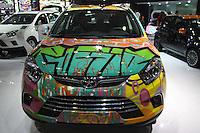 SAO PAULO, SP, 02.11.2014 - SALAO DO AUTOMOVEL - JAC T6 em exposição<br />  durante o quarto dia do 28º Salão Internacional do Automóvel no Anhembi na região norte de São Paulo, neste domingo, 02. (Foto: Marcos Moraes / Brazil Photo Press).