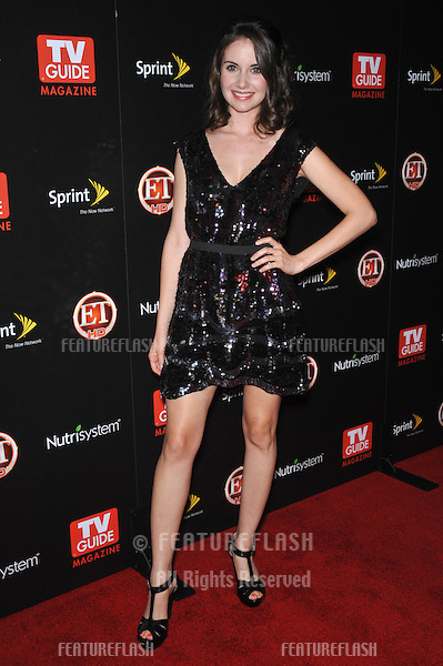 """Community"" star Alison Brie at TV Guide Magazine's Hot List Party at the SLS Hotel, Beverly Hills..November 10, 2009  Los Angeles, CA.Picture: Paul Smith / Featureflash"
