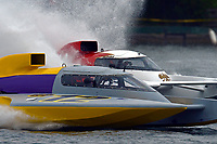 "Eric Langevin, GP-12 ""Long Shot"", Ken Brodie II, GP-50 ""Intensity""(Grand Prix Hydroplane(s)"