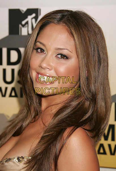 VANESSA MINNILLO.Arrivals - 2006 MTV Video Music Awards held at Radio City Music Hall, New York City, New York, USA,.31st August 2006..portrait headshot .Ref: ADM/RE.www.capitalpictures.com.sales@capitalpictures.com.©Russ Elliot/AdMedia/Capital Pictures.